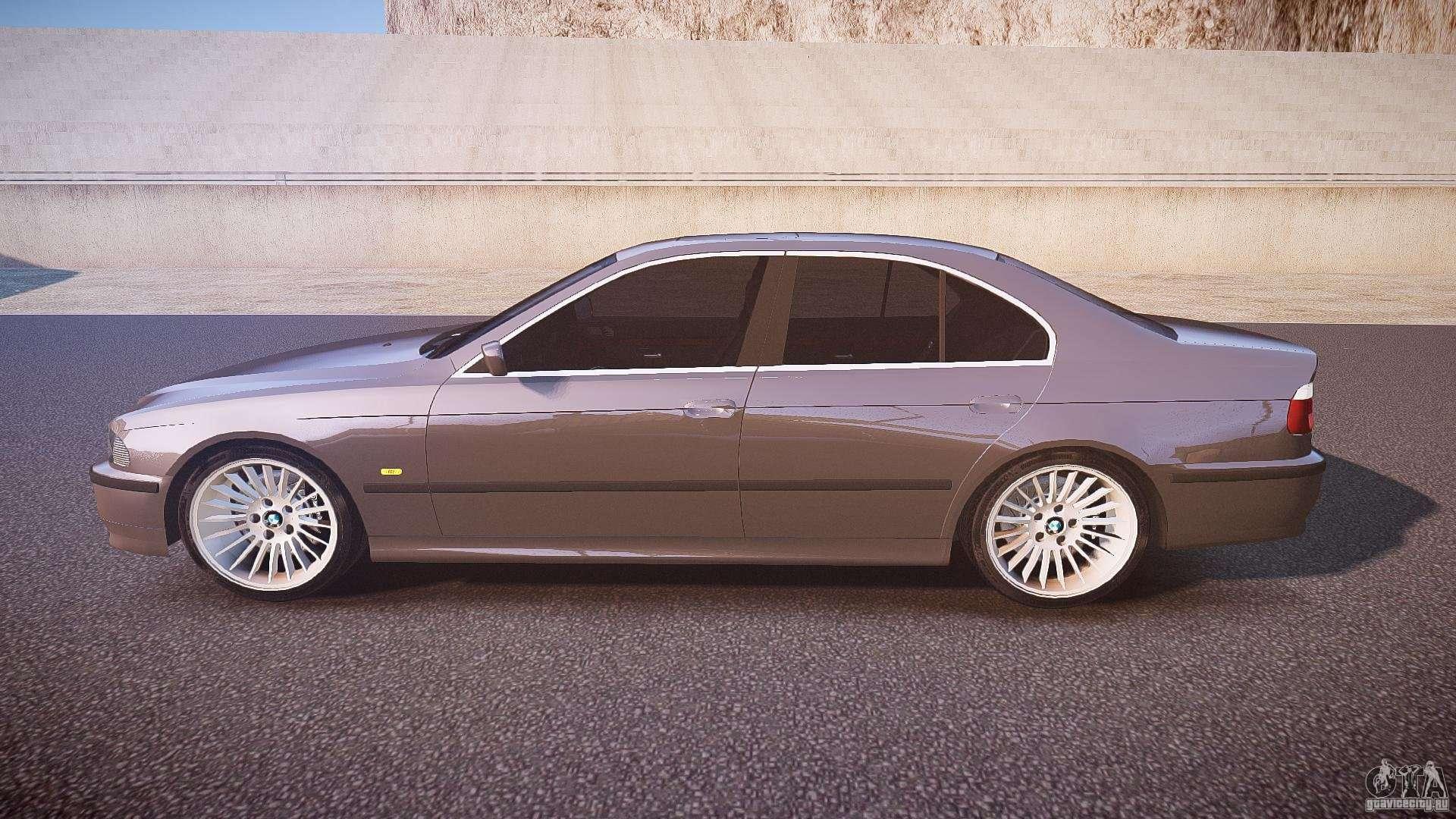 bmw 530i e39 stock white wheels for gta 4. Black Bedroom Furniture Sets. Home Design Ideas