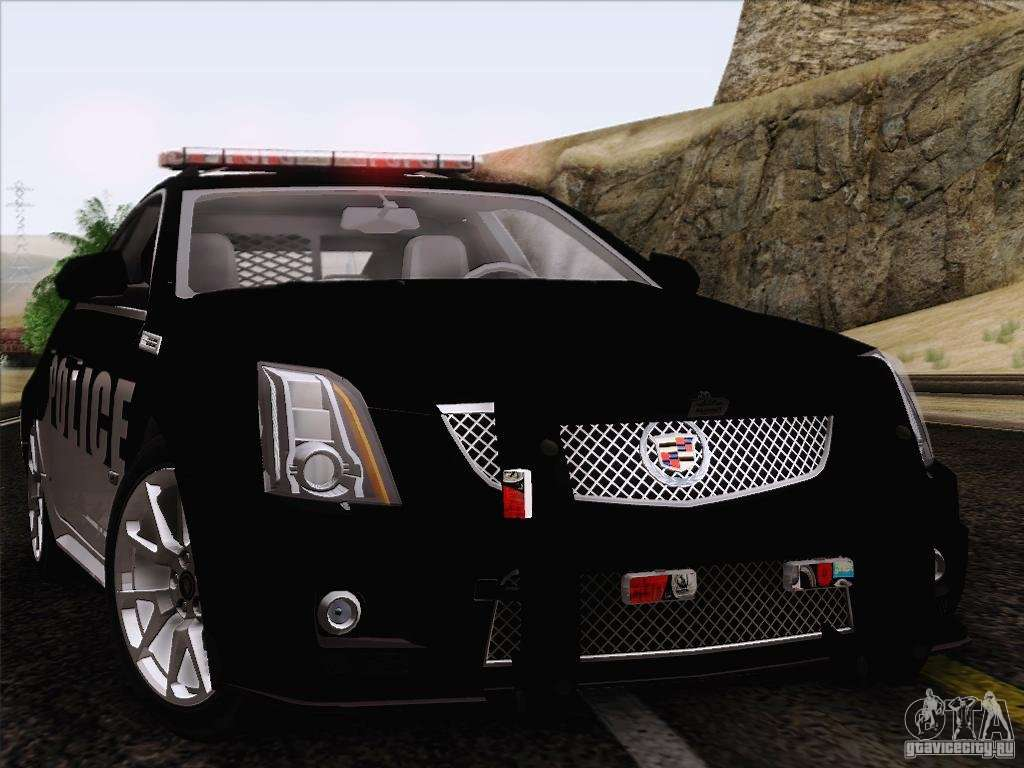 Cadillac Cts V Police Car For Gta San Andreas