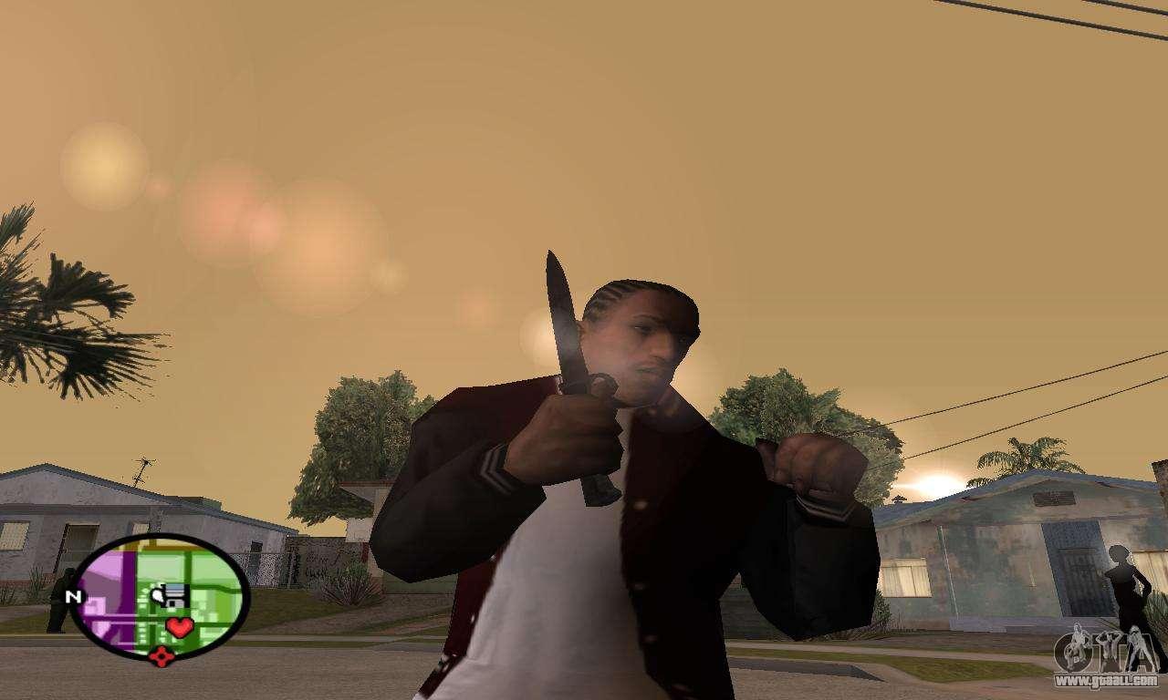 Gta San Andreas Knife German Wwii Knife For Gta San