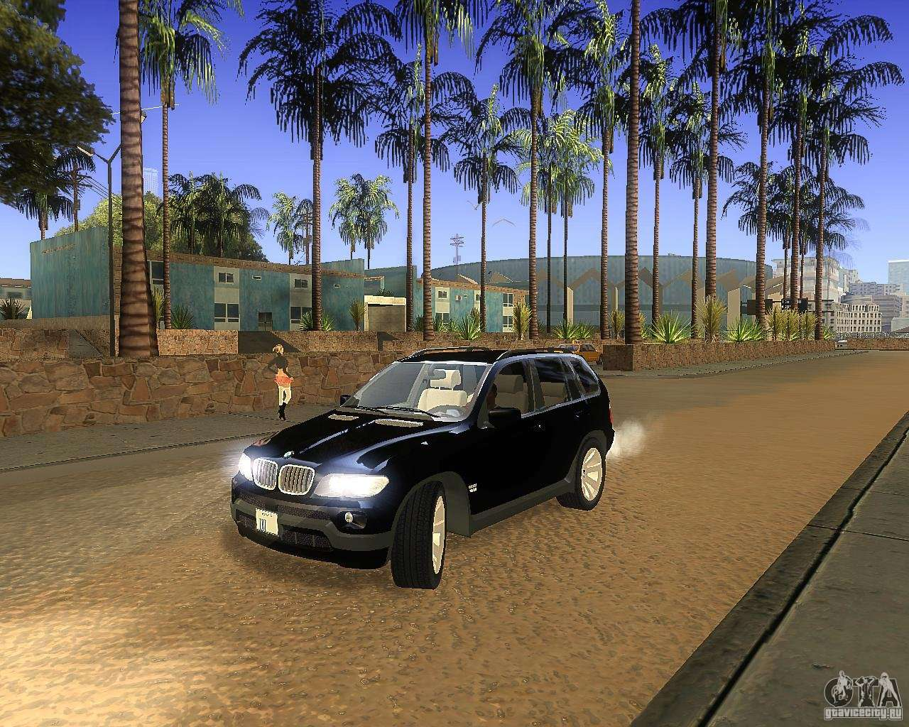bmw x5 4 8 is for gta san andreas. Black Bedroom Furniture Sets. Home Design Ideas