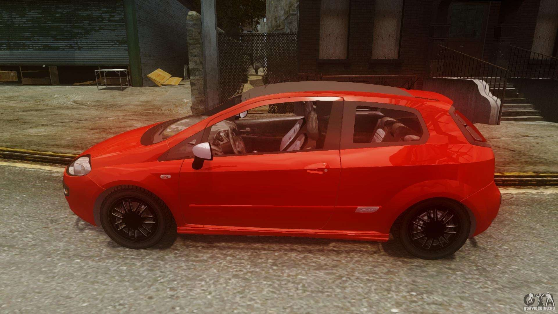 fiat punto evo sport 2010 for gta 4. Black Bedroom Furniture Sets. Home Design Ideas