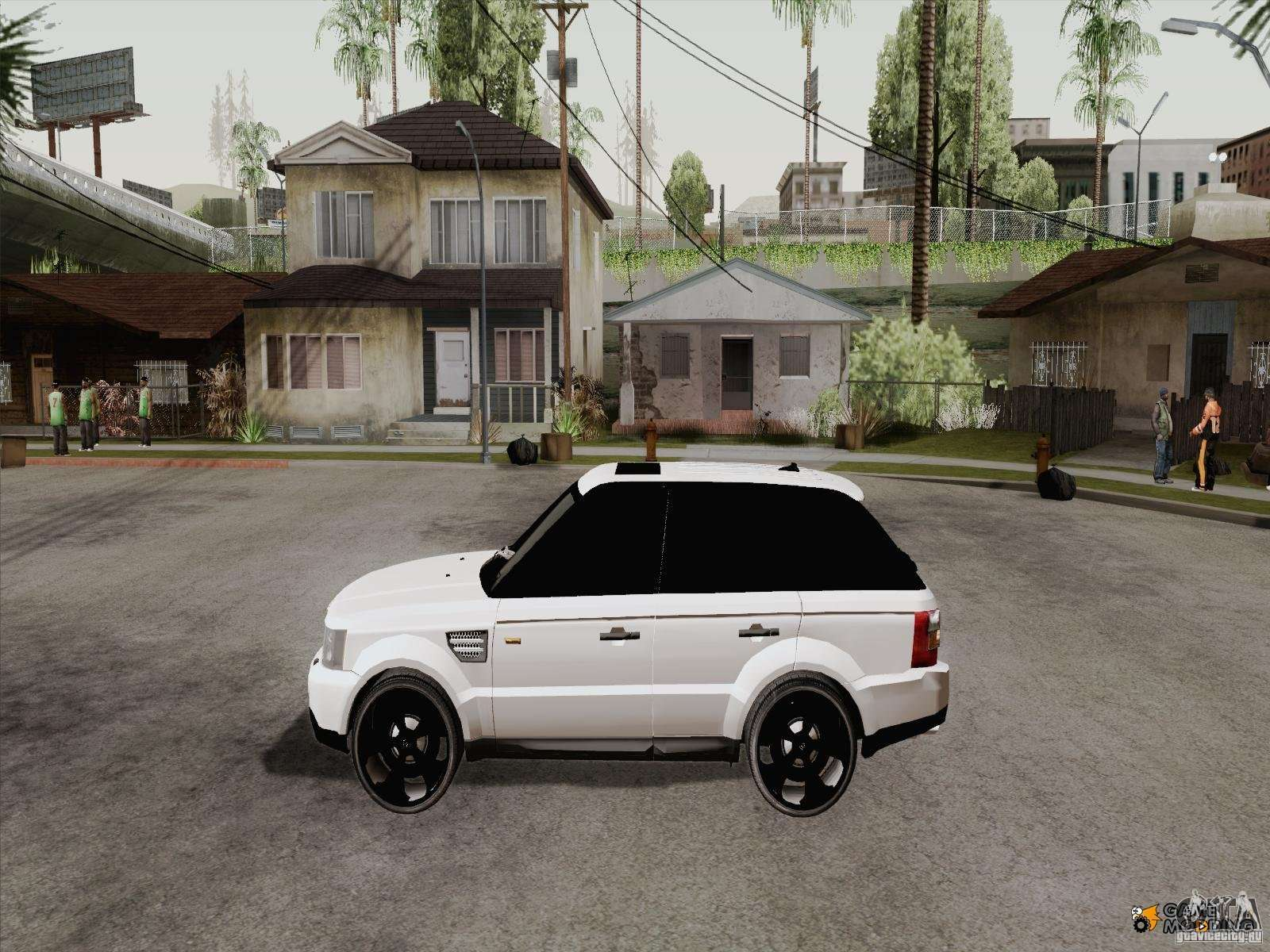 range rover tuning for gta san andreas. Black Bedroom Furniture Sets. Home Design Ideas