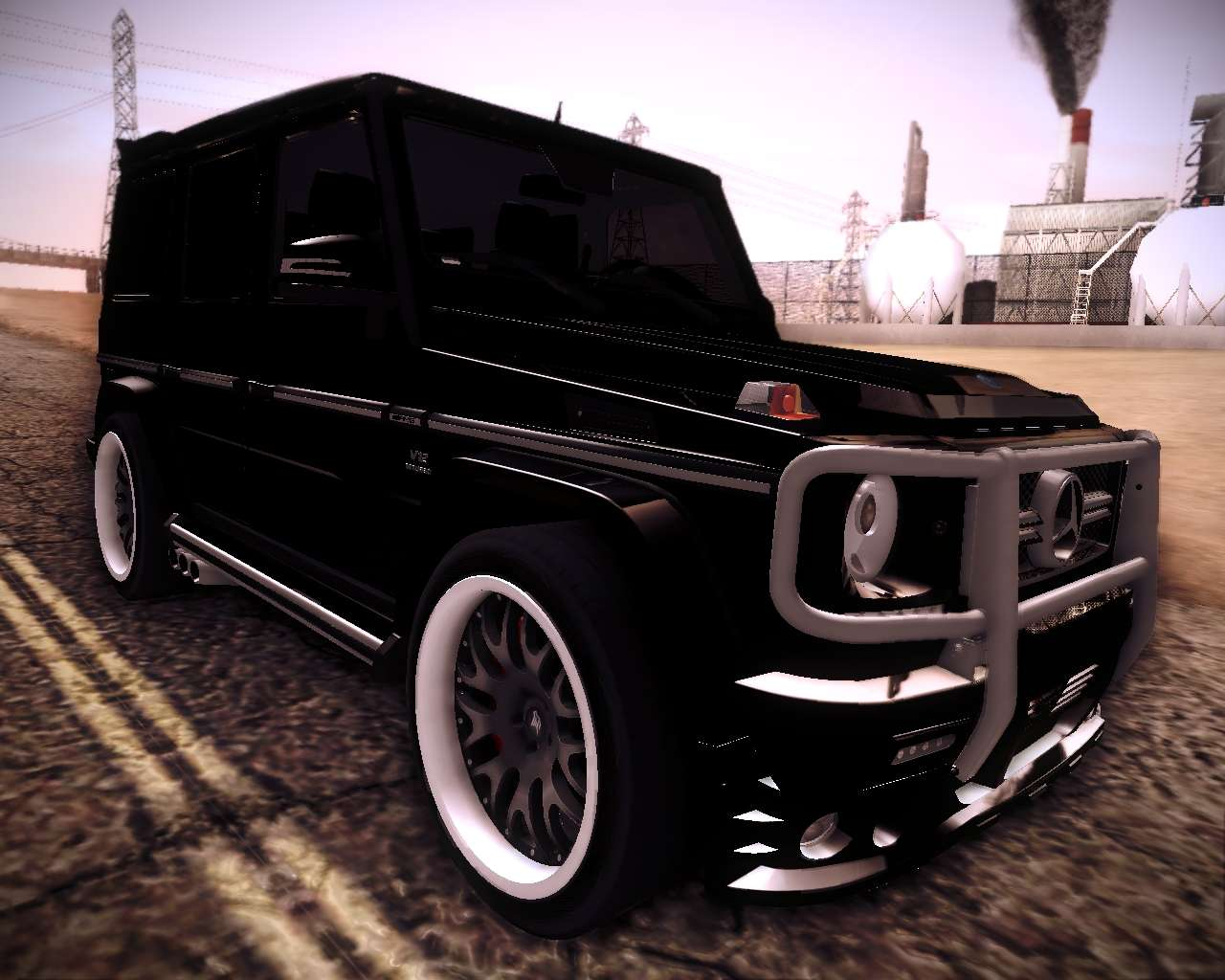 Mercedes benz g65 amg 2013 hamann for gta san andreas for Mercedes benz g65