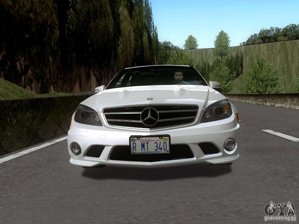 Mercedes benz c63 amg 2010 for gta san andreas for 2010 mercedes benz c63 amg