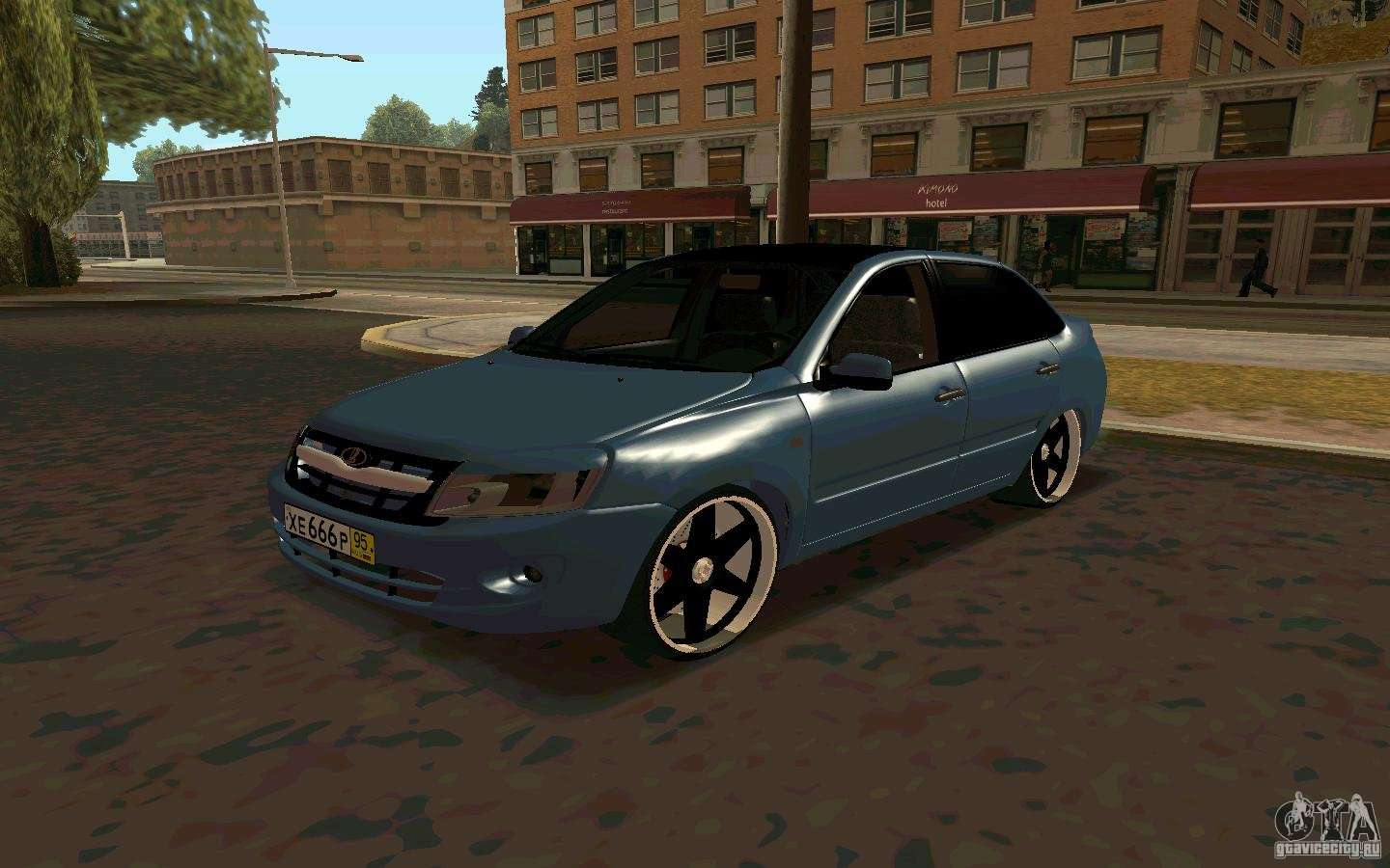 lada granta tuning for gta san andreas. Black Bedroom Furniture Sets. Home Design Ideas