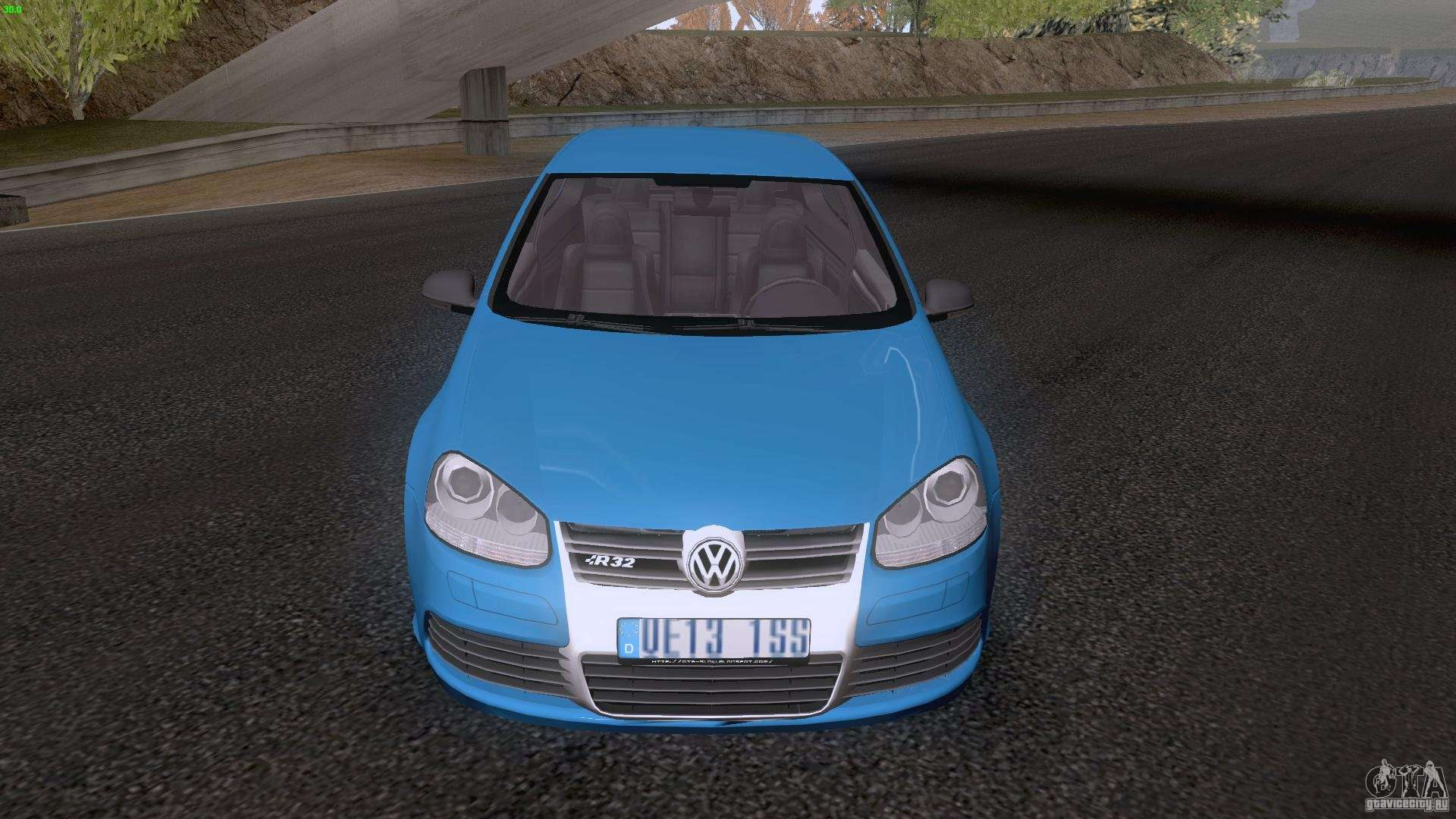 vw golf 5 r32 2006 stanceworks for gta san andreas. Black Bedroom Furniture Sets. Home Design Ideas