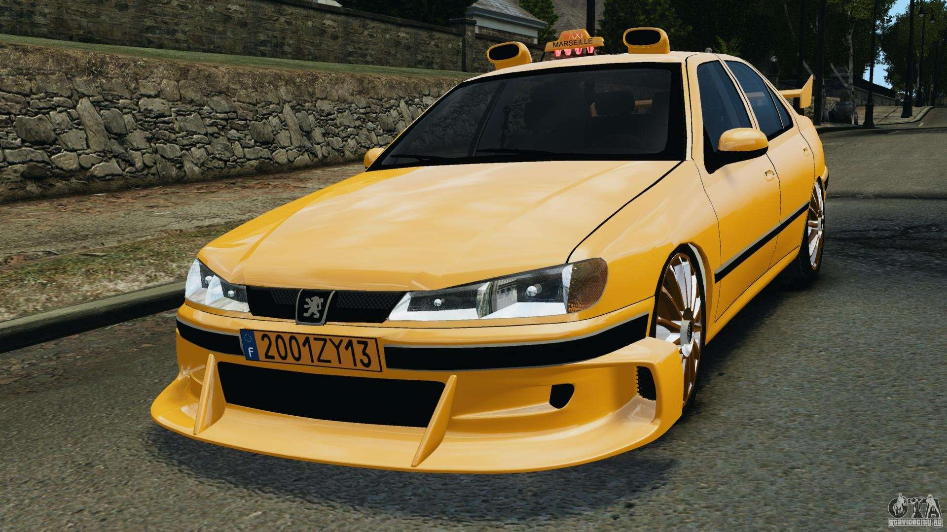 peugeot 406 taxi for gta 4. Black Bedroom Furniture Sets. Home Design Ideas