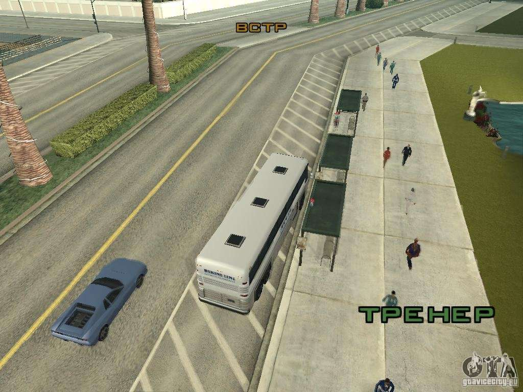 Bus Line In Las Venturas For Gta San Andreas