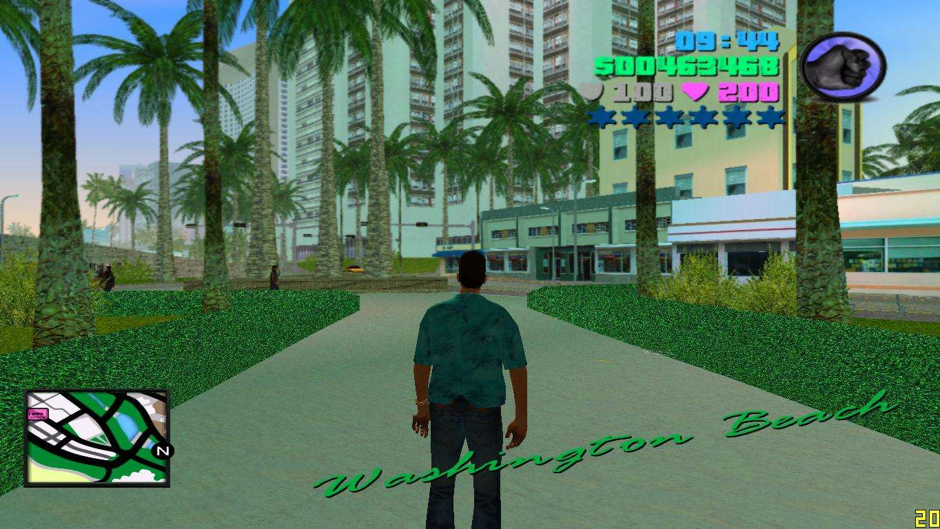 gta vice city mod radar