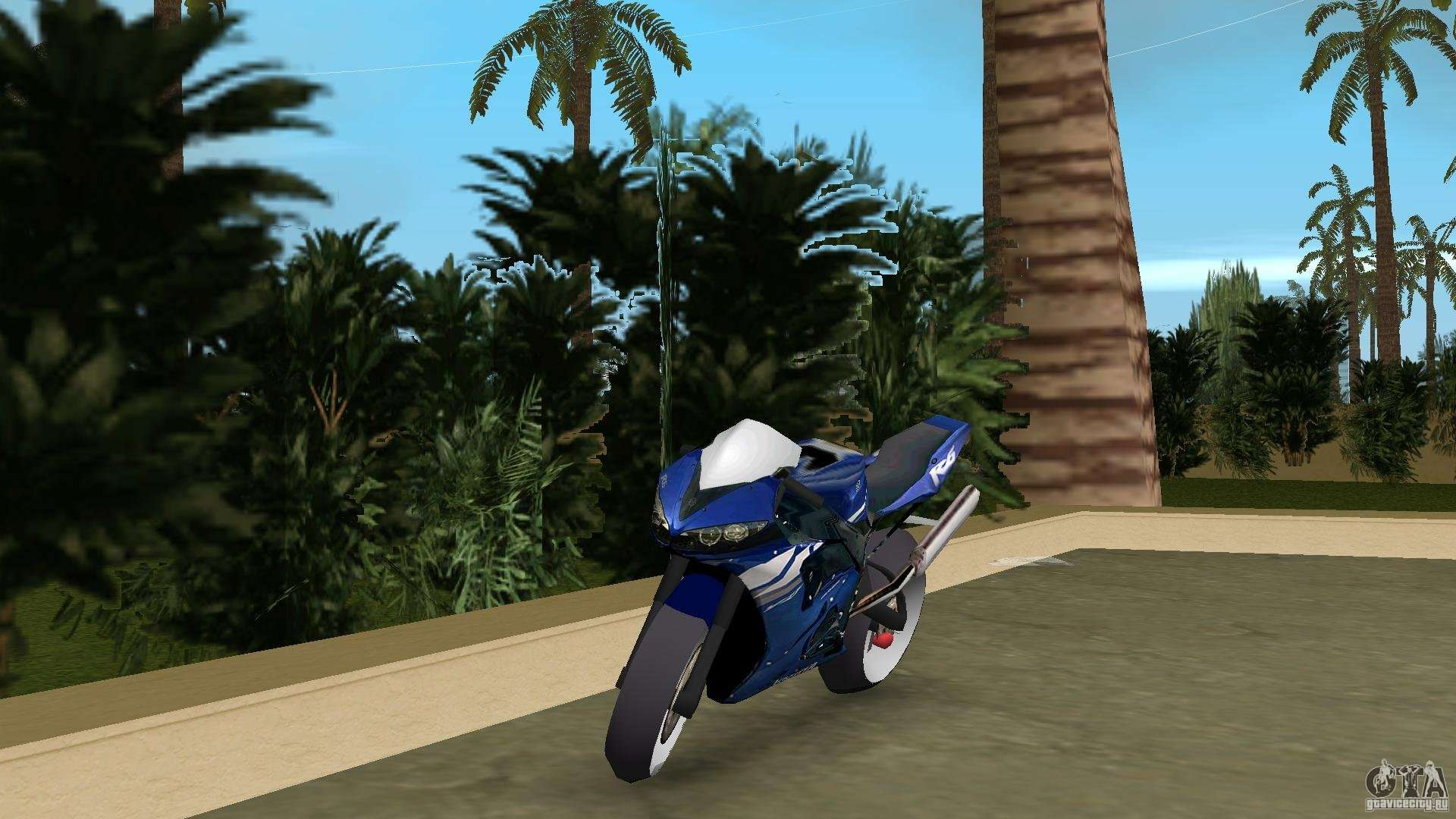 Yamaha R In Vice City