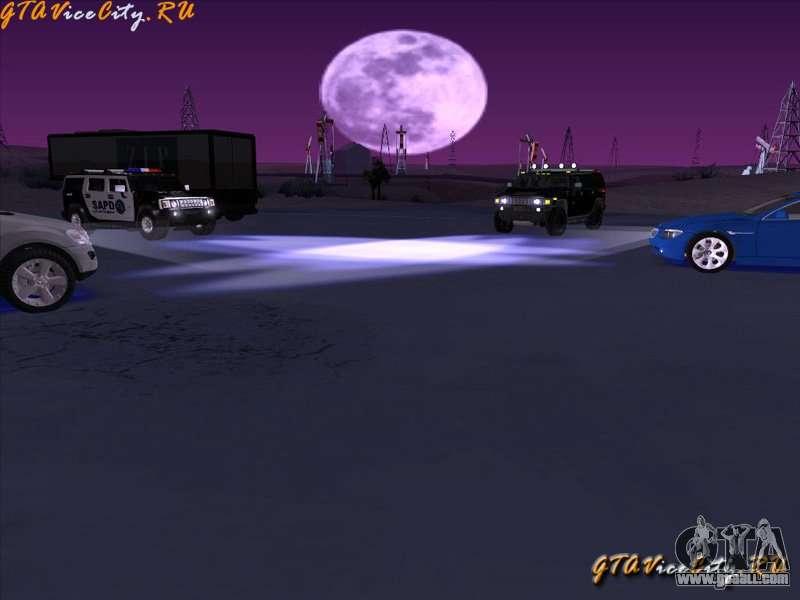 Neon-neon lighting in GTA San Andreas for GTA San Andreas third screenshot & Neon-neon lighting in GTA San Andreas for GTA San Andreas azcodes.com