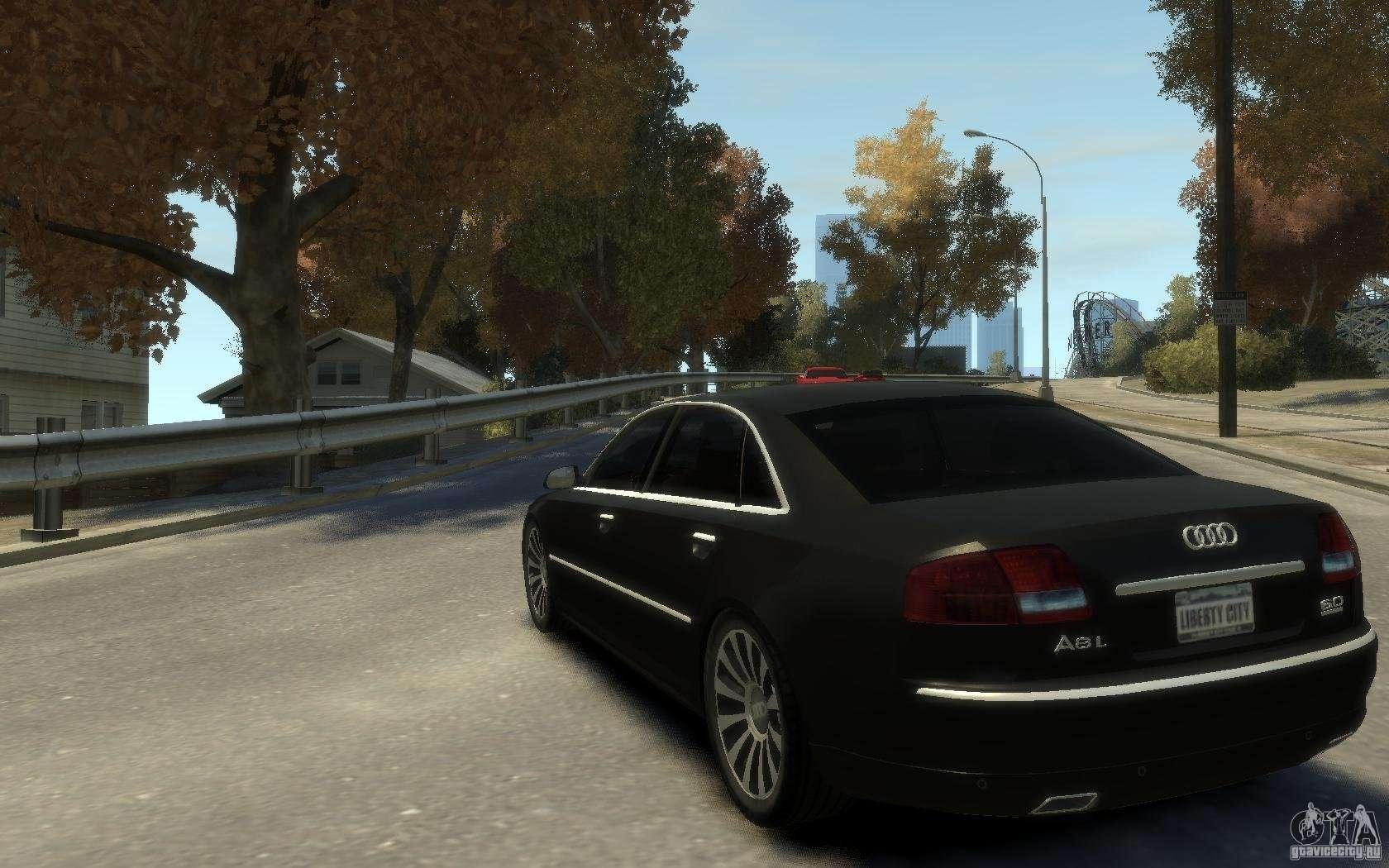 Audi A8 L 6 0 Quattro Transporter 3 For Gta 4