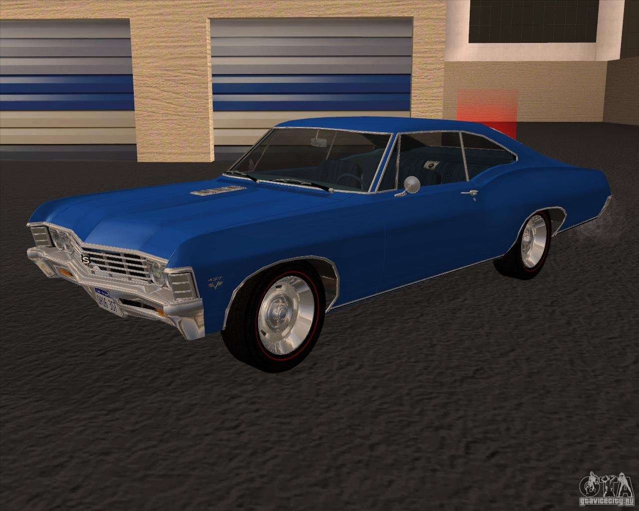 Chevrolet impala 4 door hardtop 1963 for gta san andreas - Chevrolet Impala 427 Ss 1967 For Gta San Andreas