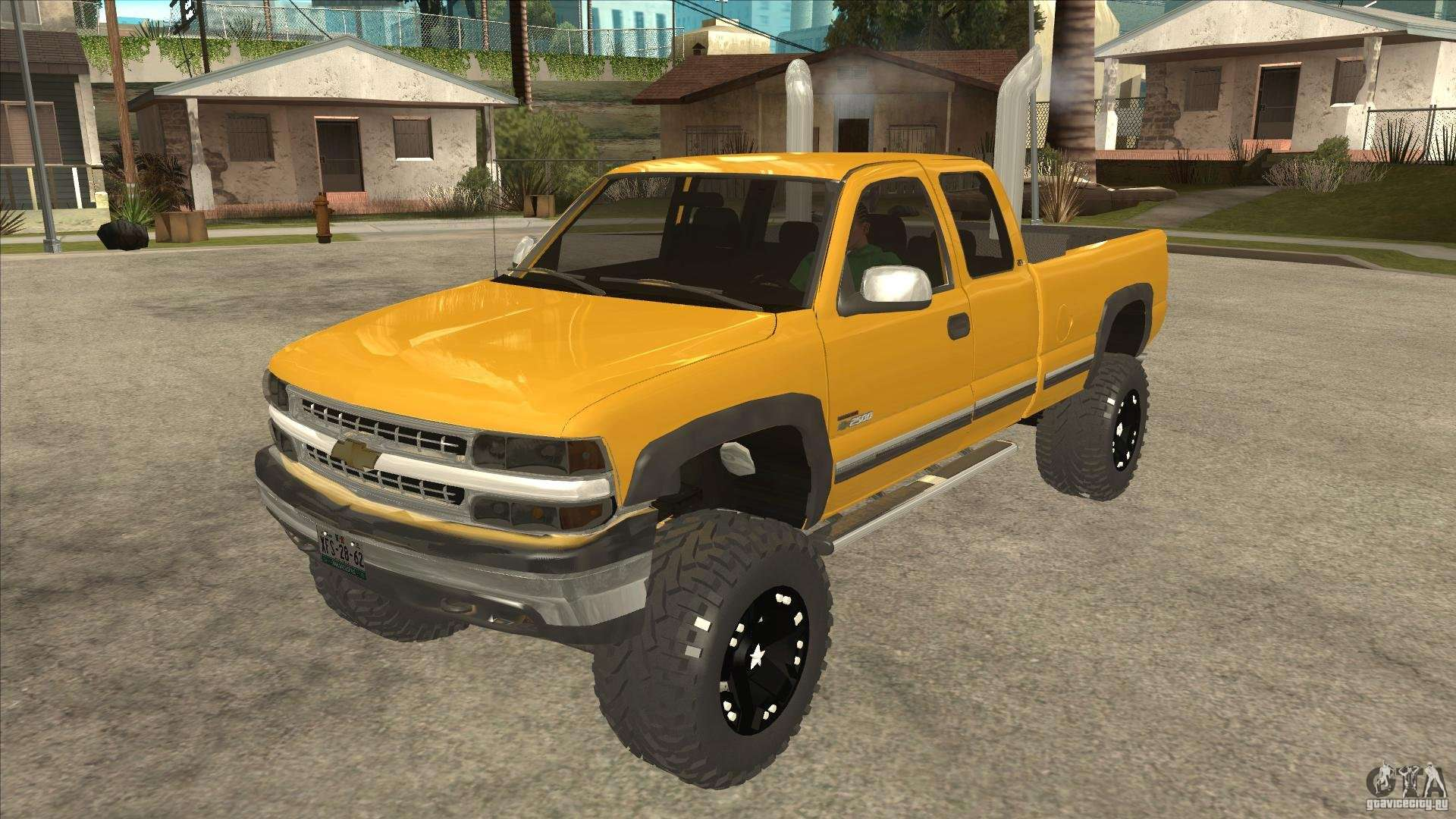 Chevrolet Silverado 2500 Lifted for GTA San Andreas