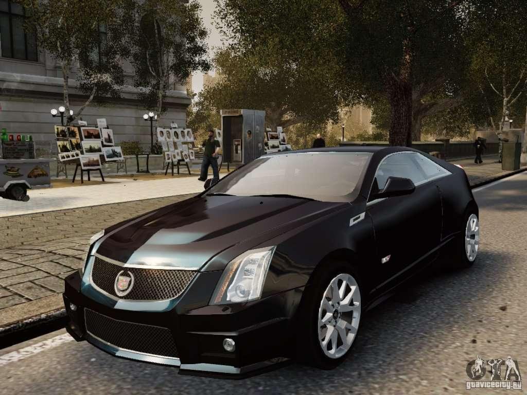 cadillac cts v coupe 2011 for gta 4. Black Bedroom Furniture Sets. Home Design Ideas