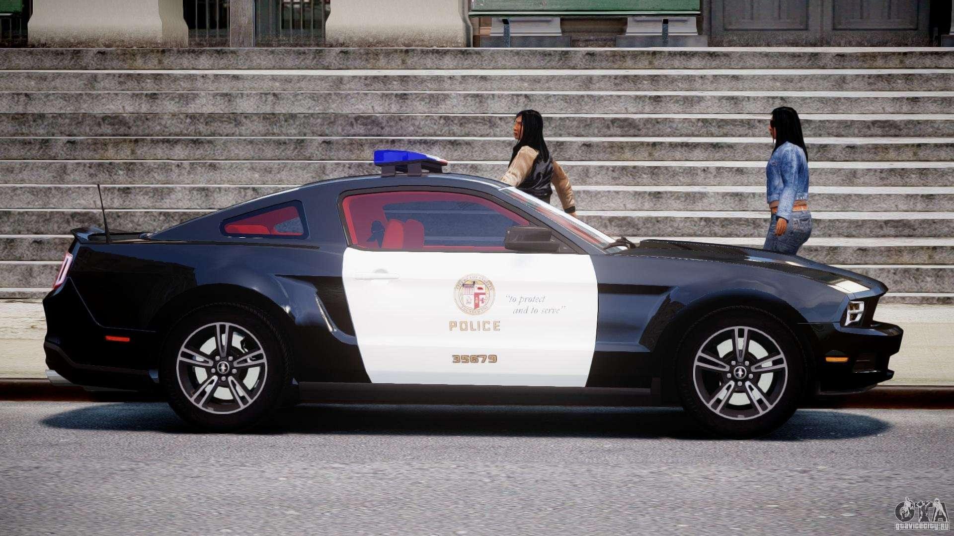 ford mustang v6 2010 police v1 0 for gta 4. Black Bedroom Furniture Sets. Home Design Ideas