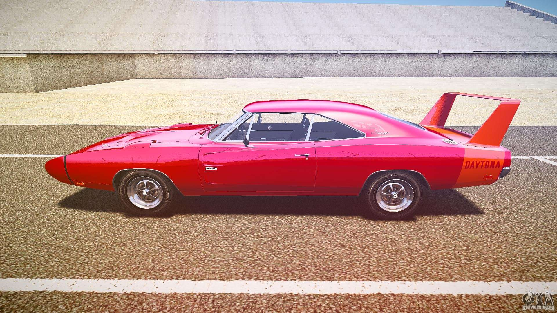 Dodge charger daytona 1969 epm for gta 4 left view
