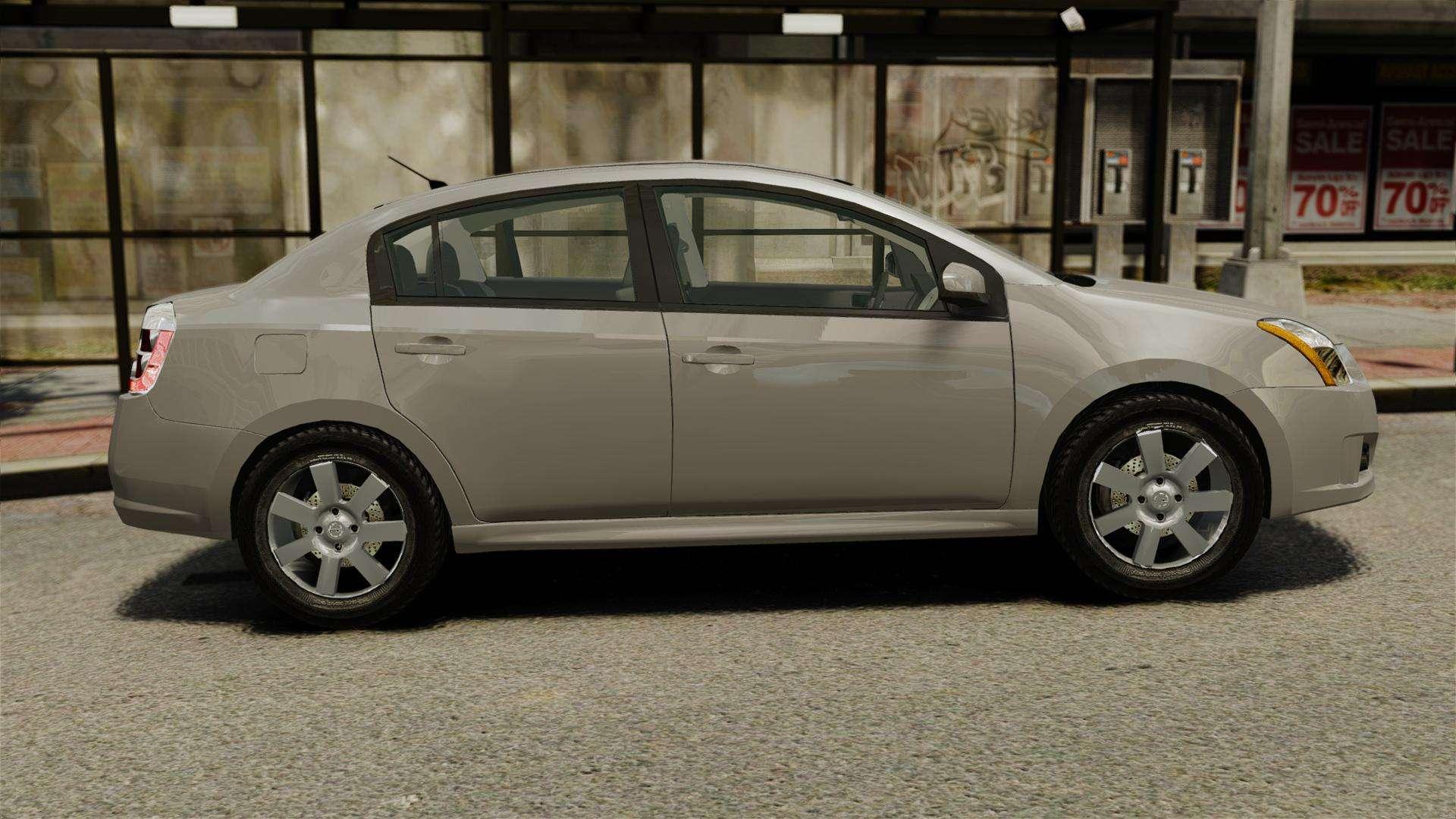 Nissan Sentra S 2008 For Gta 4