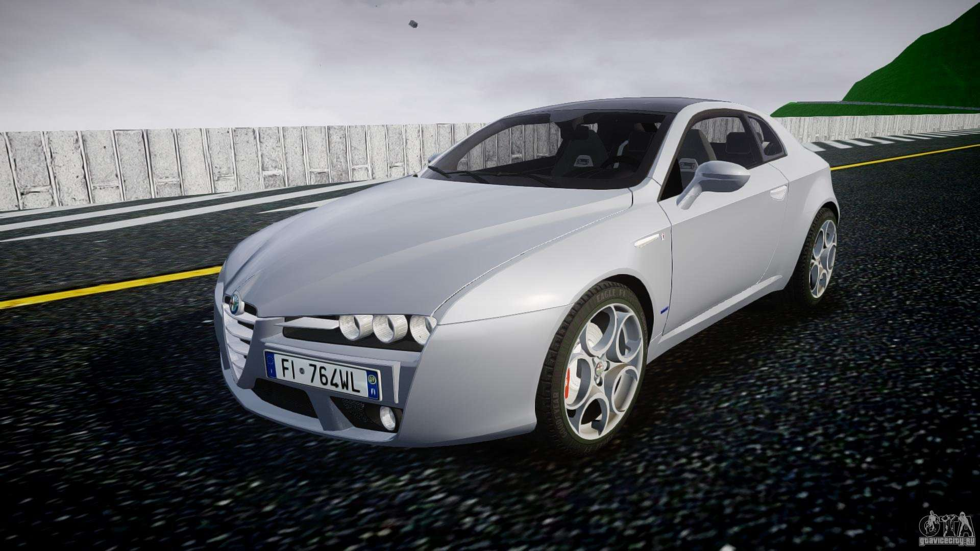 alfa romeo brera italia independent 2009 for gta 4. Black Bedroom Furniture Sets. Home Design Ideas
