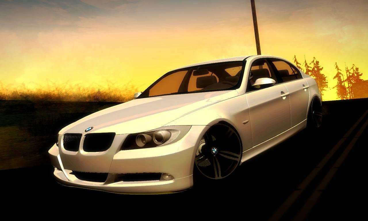 bmw 330 e90 for gta san andreas. Black Bedroom Furniture Sets. Home Design Ideas