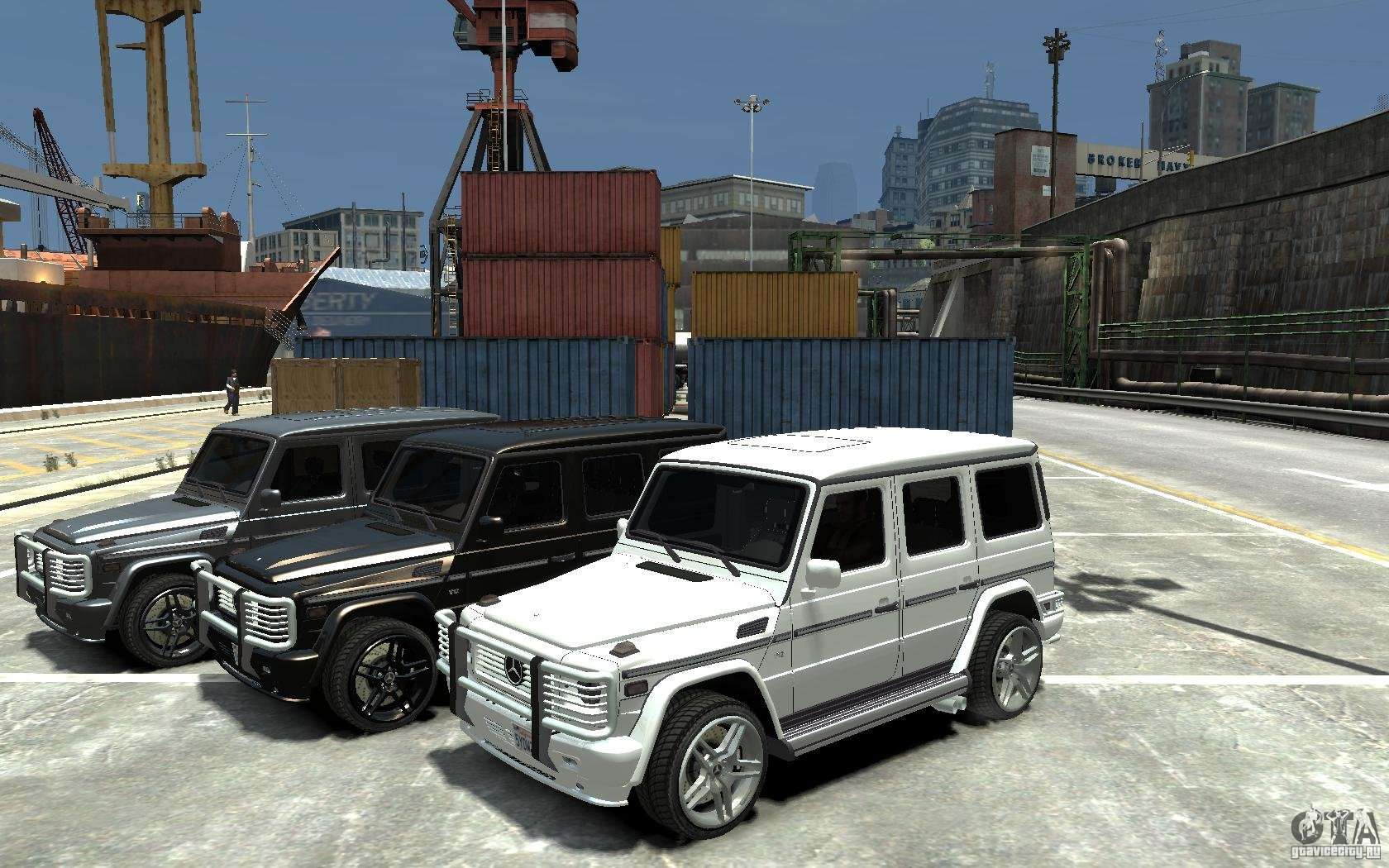 Mercedes benz g 55 amg 2009 for gta 4 for Mercedes benz gta