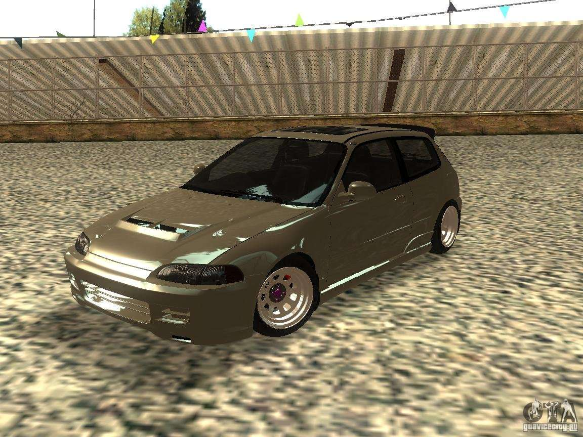 honda civic eg6 jdm for gta san andreas. Black Bedroom Furniture Sets. Home Design Ideas