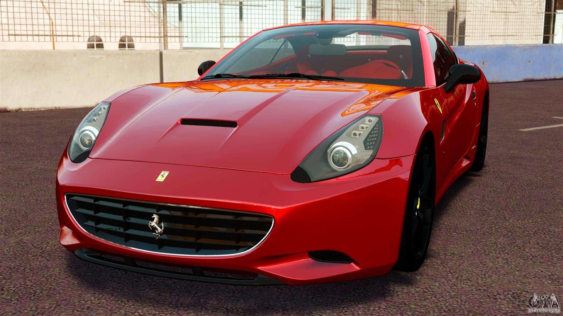 Ferrari California Novitec for GTA 4