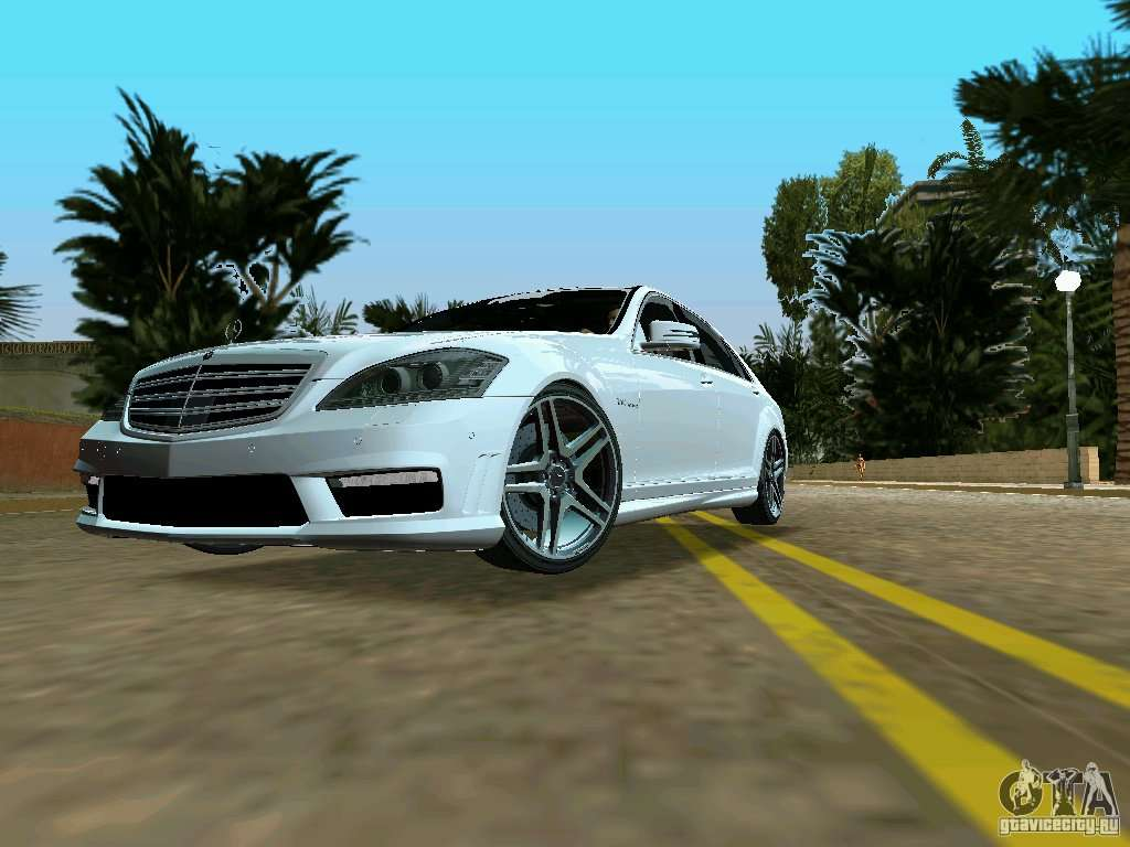 Mercedes benz s65 amg 2012 for gta vice city for Mercedes benz city