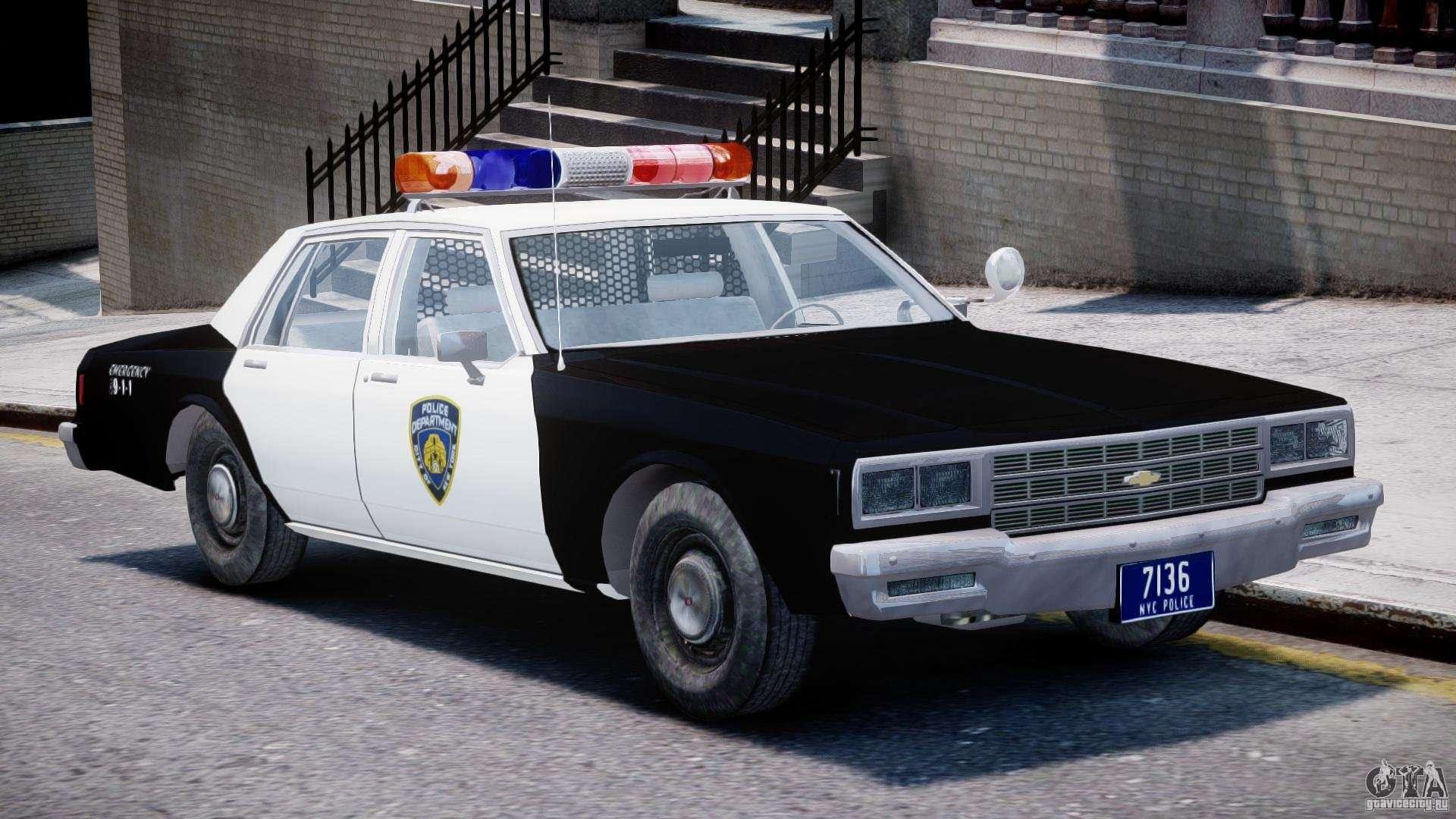 Chevrolet Impala Police 1983 Final For Gta 4