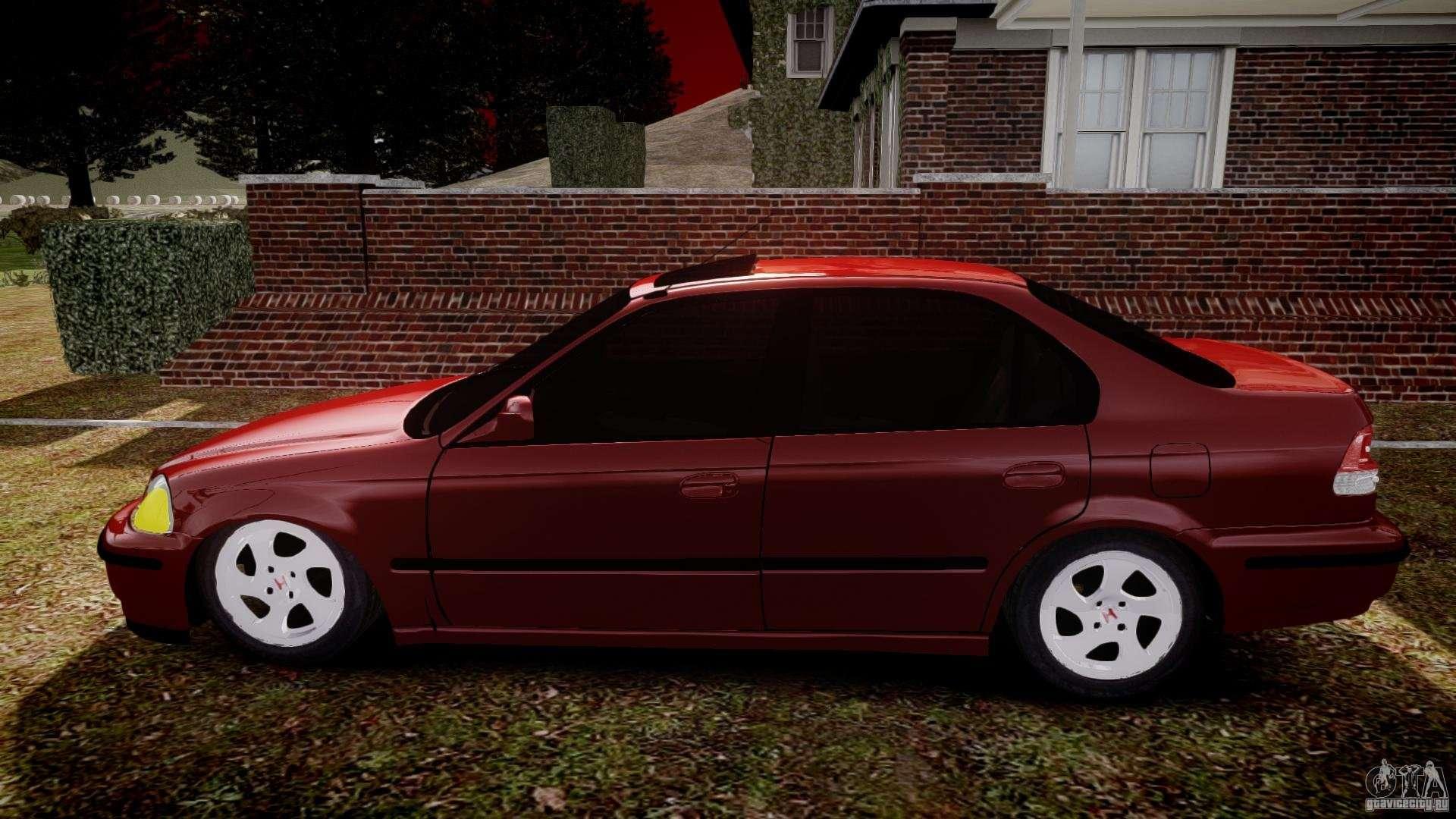 GTA San Andreas Honda - Mods and