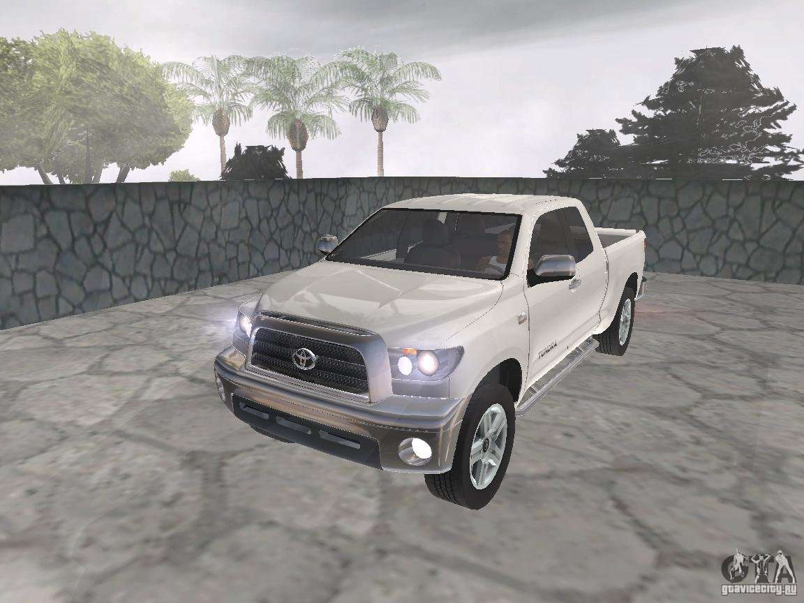 Toyota Tundra For Gta San Andreas