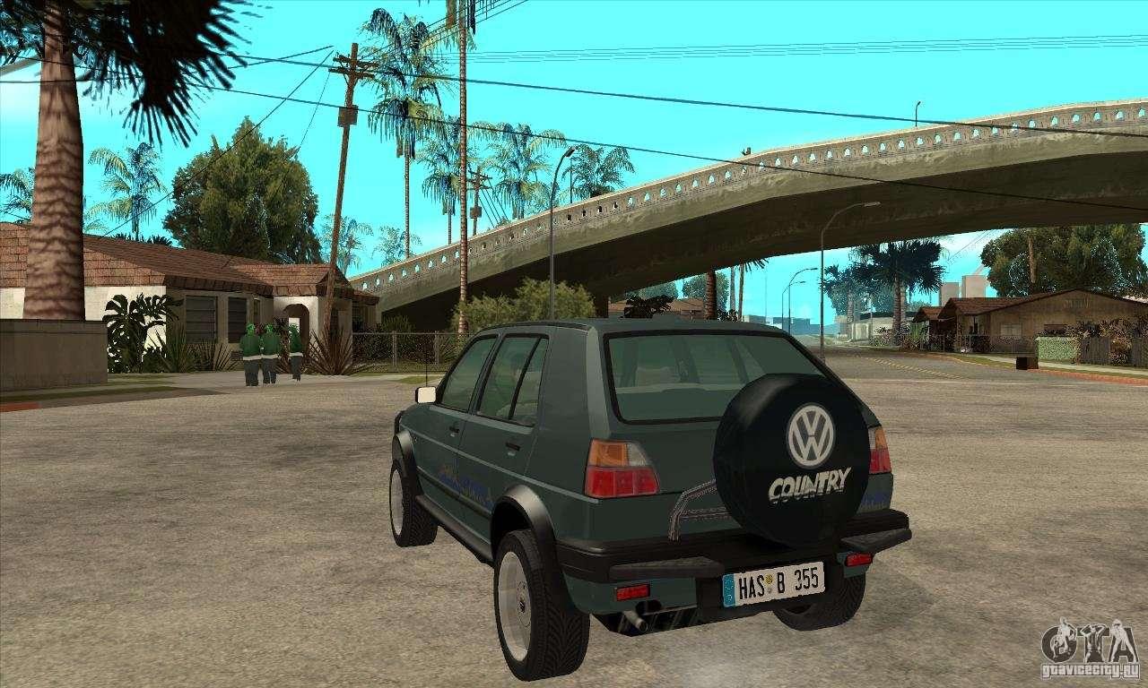 volkswagen golf country mkii syncro 4x4 1991 for gta san andreas. Black Bedroom Furniture Sets. Home Design Ideas