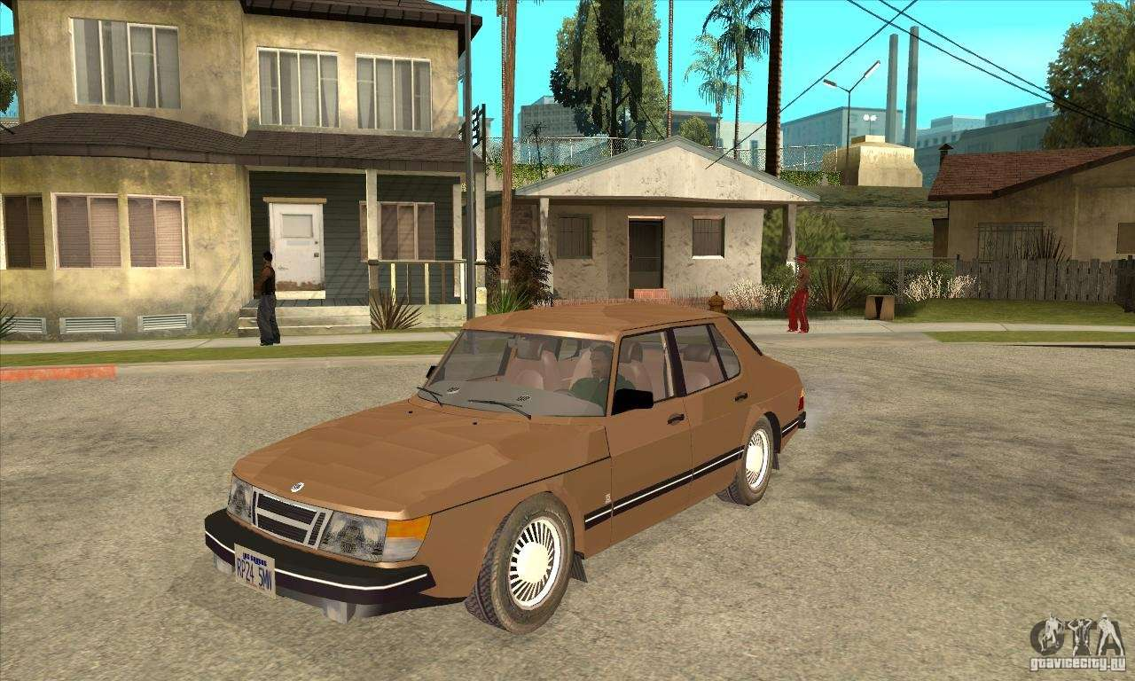 Dc Cab Company >> Saab 900i 16 1986 for GTA San Andreas