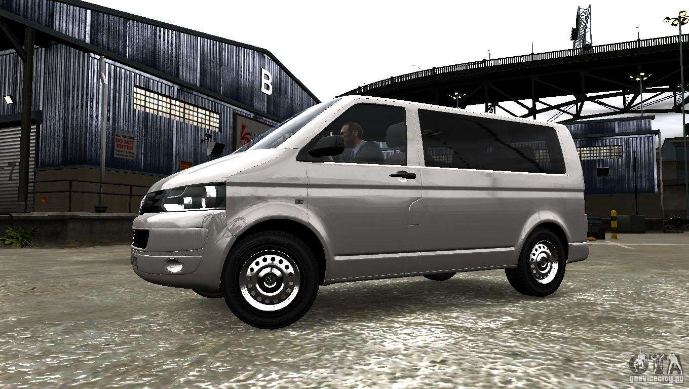 volkswagen t5 facelift for gta 4. Black Bedroom Furniture Sets. Home Design Ideas