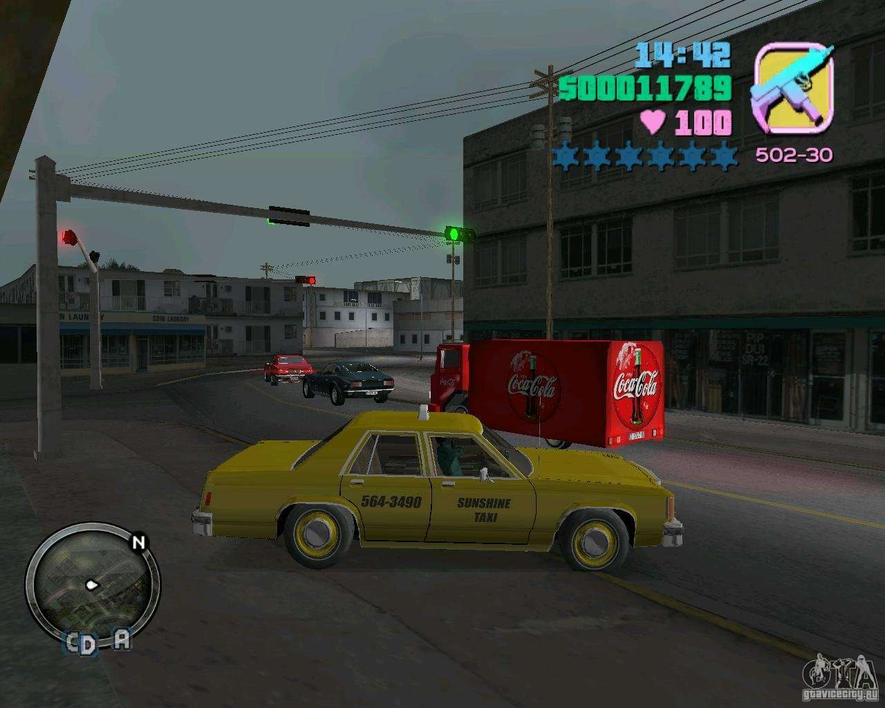 Ford Crown Victoria Ltd 1985 Taxi For Gta Vice City 1980 Left View