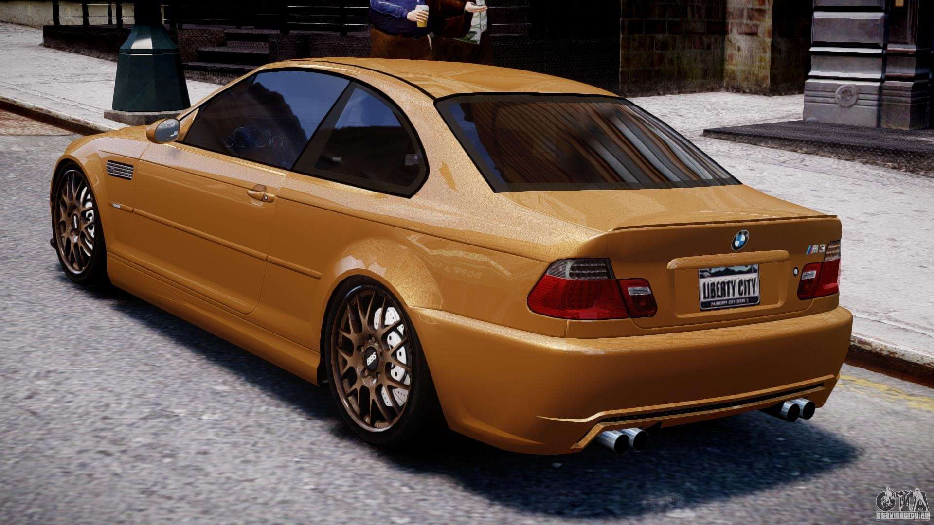 BMW M3 E46 Tuning 2001 v2.0 for GTA 4