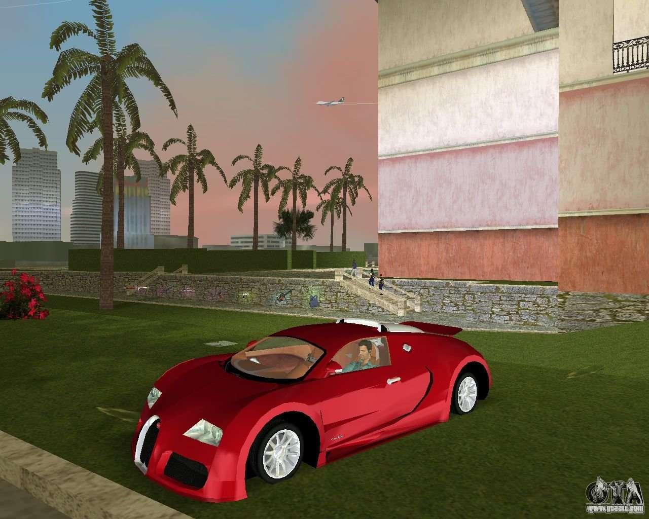 bugatti veyron for gta vice city. Black Bedroom Furniture Sets. Home Design Ideas