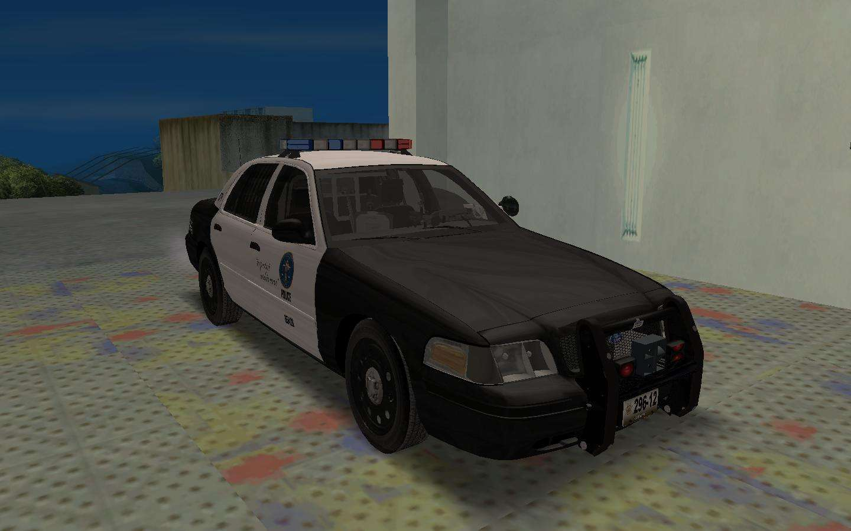 Ford Crown Victoria Police Interceptor Lspd For Gta San