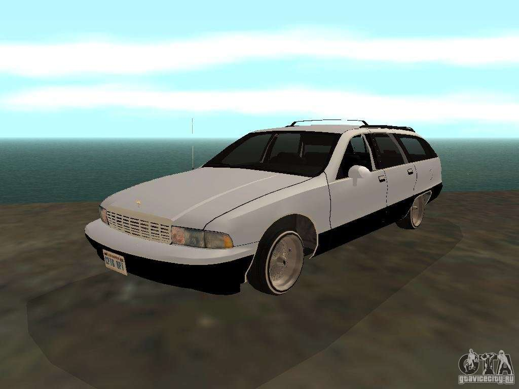 All Chevy 1996 chevrolet caprice wagon Chevrolet Caprice Wagon 1992 for GTA San Andreas