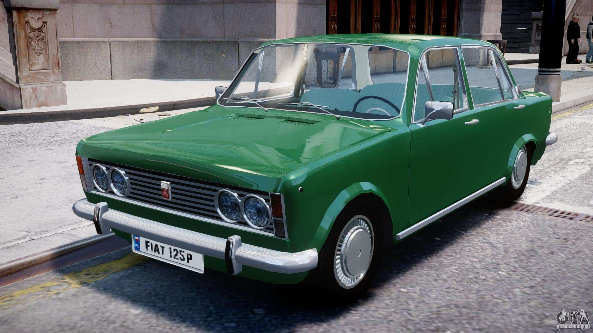 fiat 125p polski 1970 for gta 4. Black Bedroom Furniture Sets. Home Design Ideas