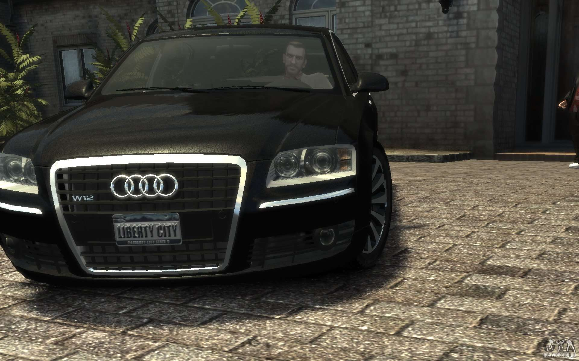 Audi A8 W12 >> Audi A8 L 6.0 Quattro (Transporter 3) for GTA 4