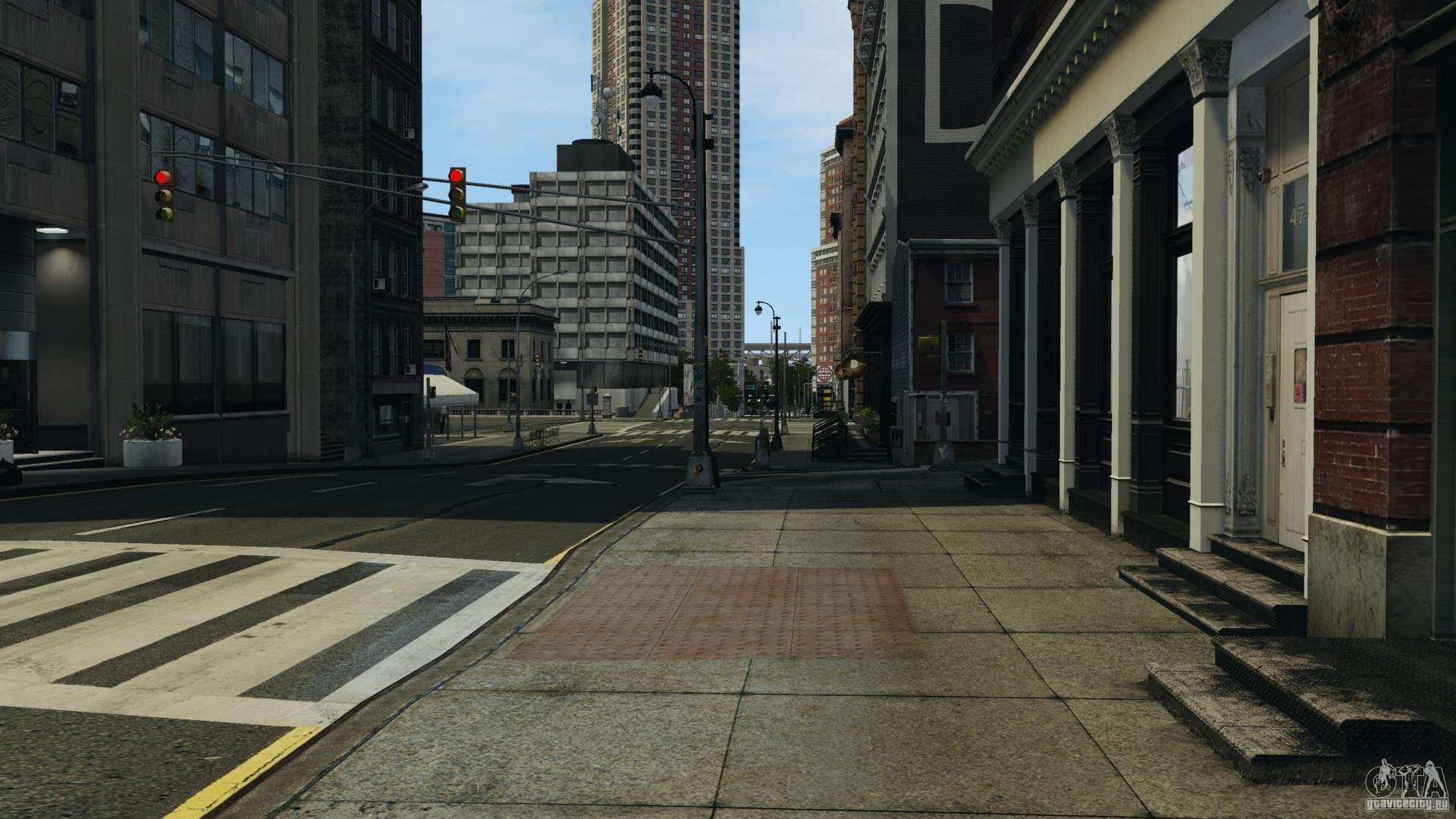 Empty city for GTA 4