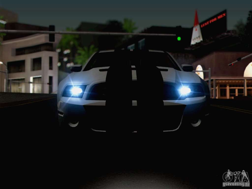 New Car Lights Effect for GTA San Andreas sixth screenshot & New Car Lights Effect for GTA San Andreas