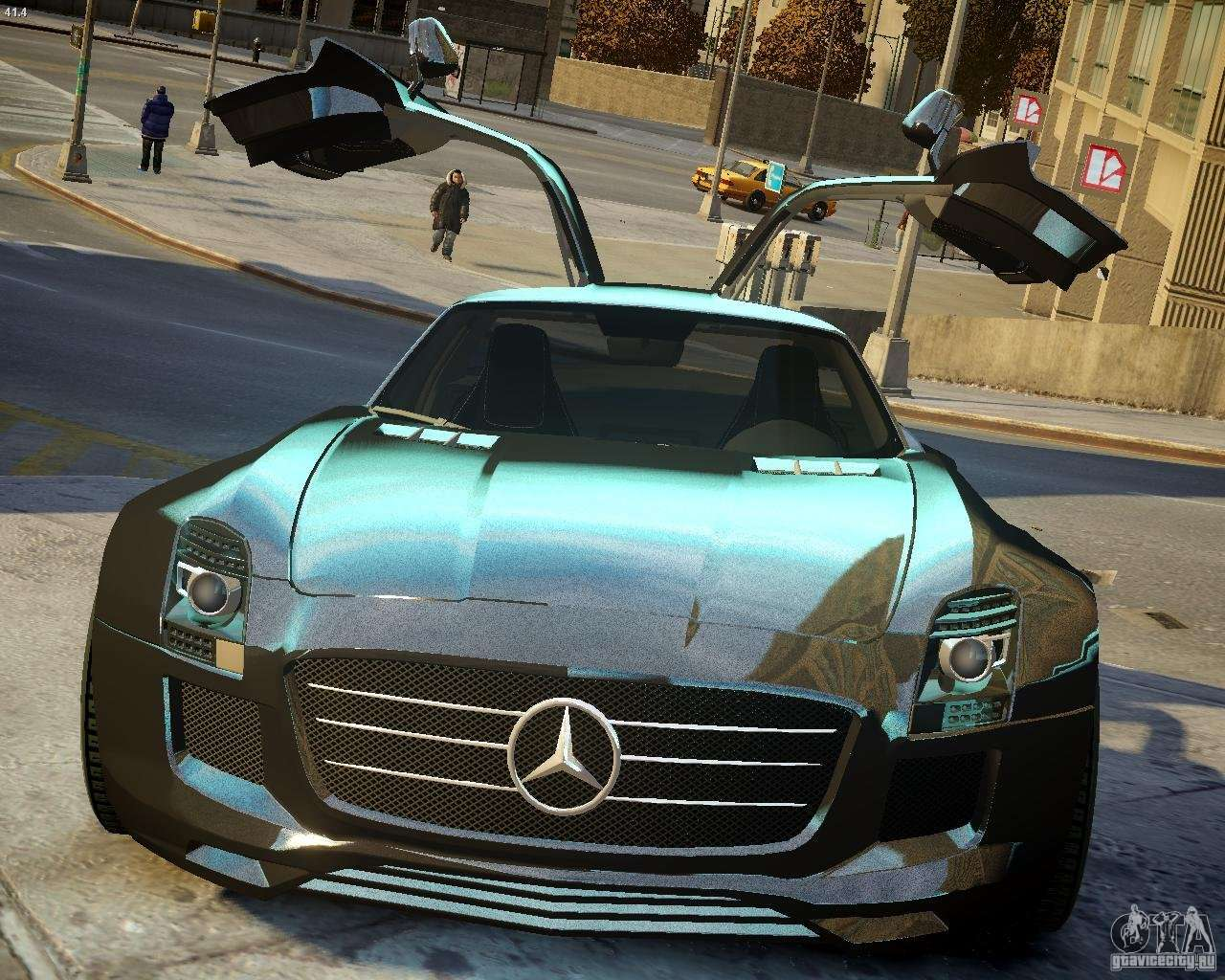 Amg Driving Academy >> Mercedes SLS Extreme for GTA 4