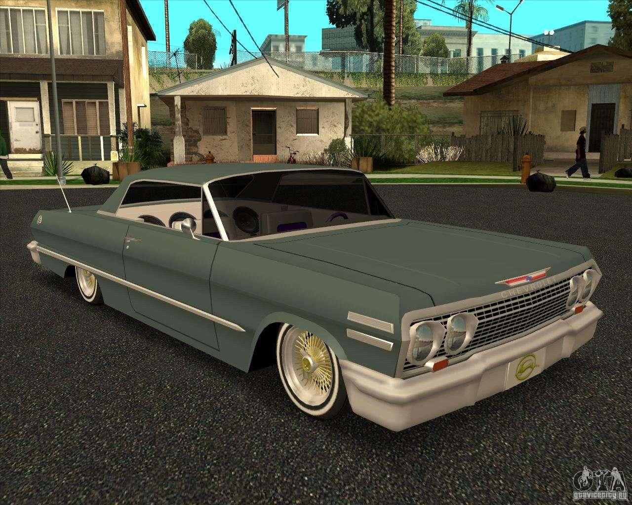 Chevrolet impala 4 door hardtop 1963 for gta san andreas - Chevrolet Impala 4 Door Hardtop 1963 For Gta San Andreas 57