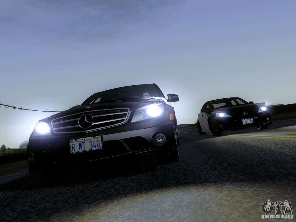 Mercedes benz c63 amg 2010 for gta san andreas for 2010 mercedes benz amg c63