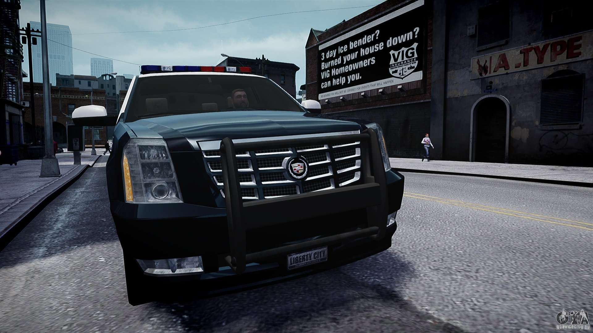 Cadillac Escalade Police V2 0 Final For Gta 4