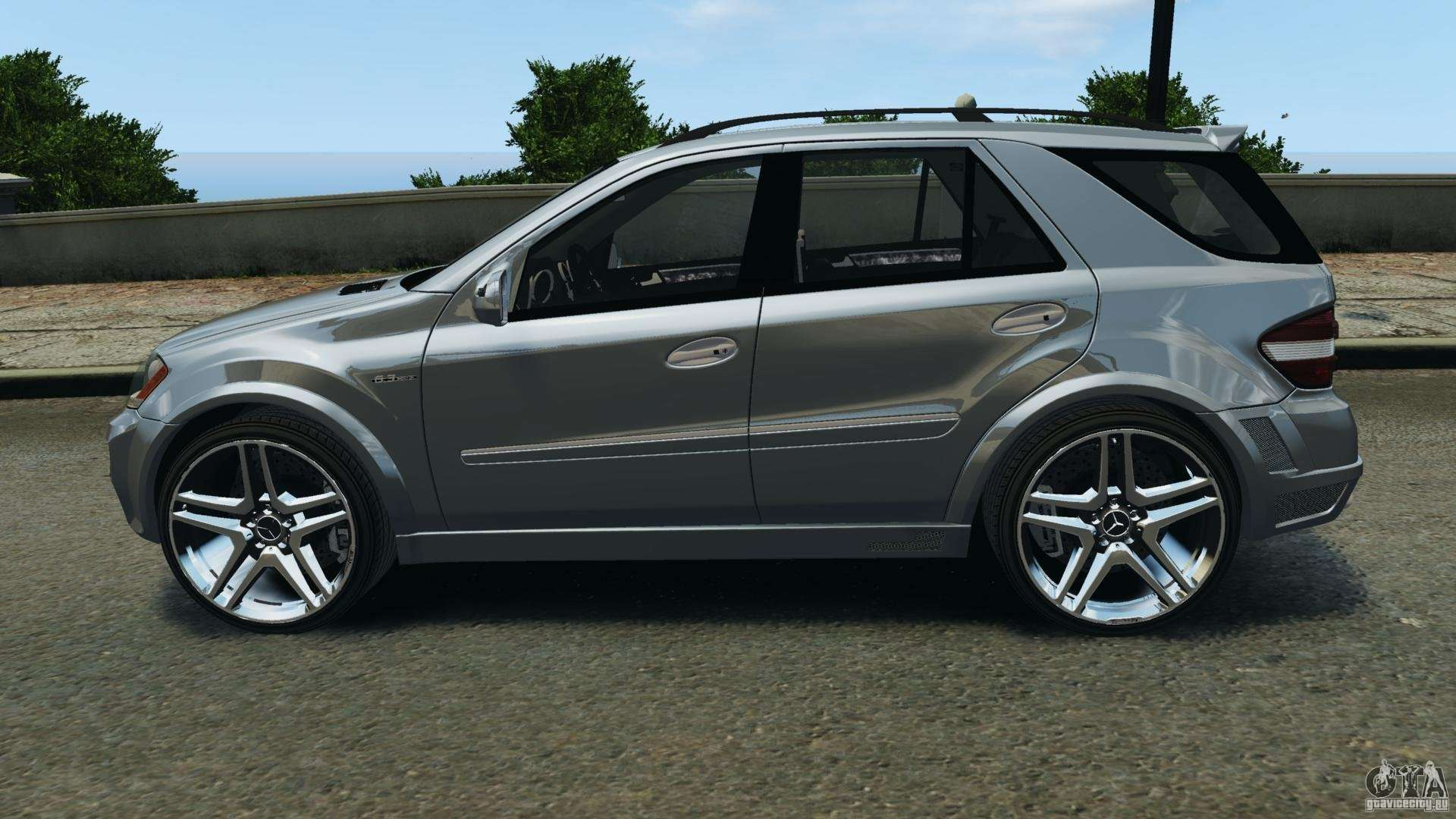 Mercedes benz ml63 amg brabus for gta 4 for Mercedes benz amg ml63