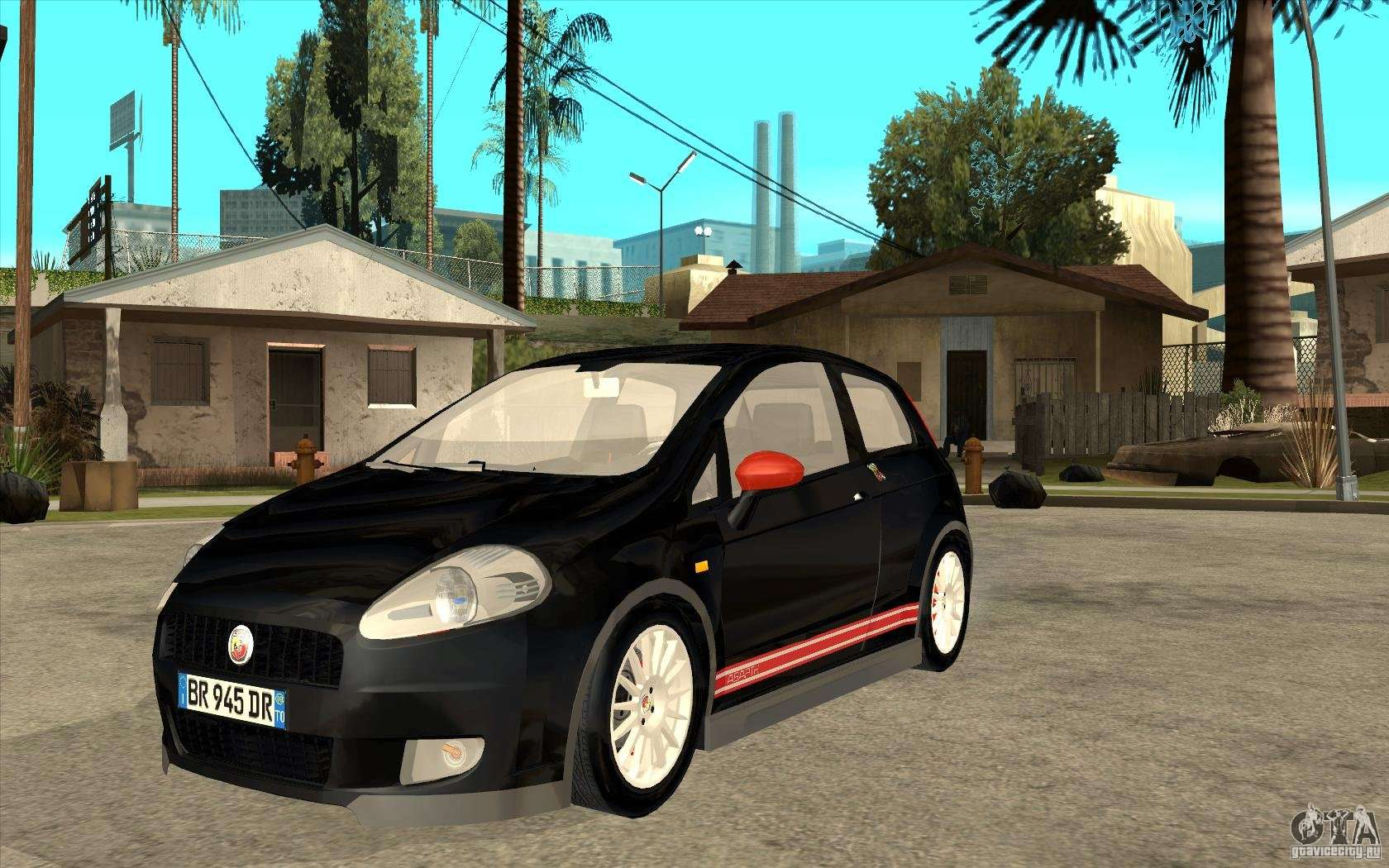 fiat grande punto 3 0 abarth for gta san andreas. Black Bedroom Furniture Sets. Home Design Ideas