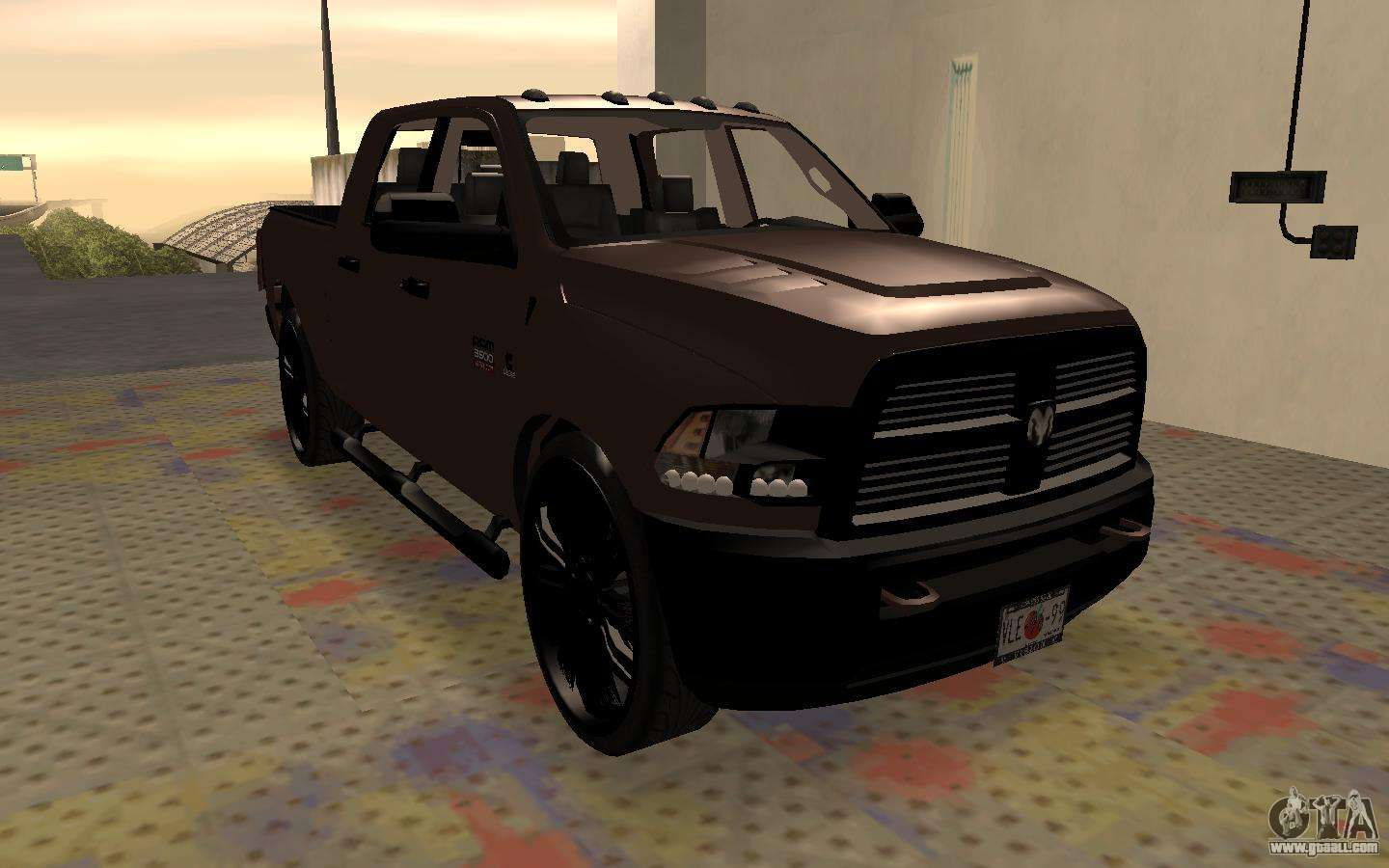 dodge ram 3500 for gta san andreas. Black Bedroom Furniture Sets. Home Design Ideas